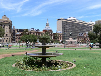 Church Square in Pretoria