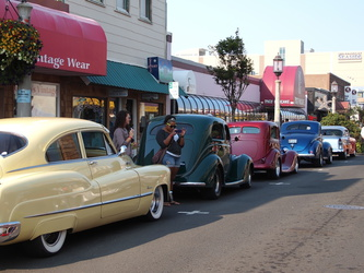 Oldtimer-Treffen in Seaside
