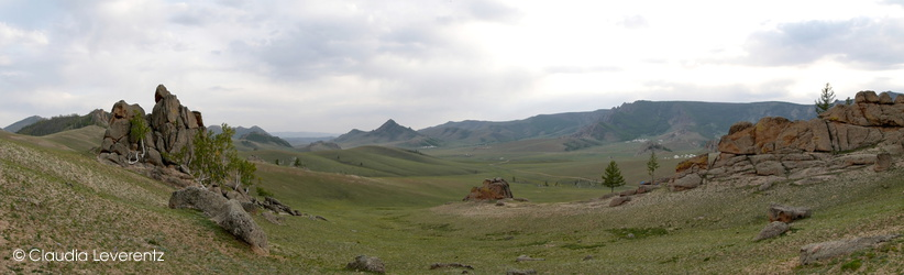Panoramablick im Khan Khentil Nationalpark