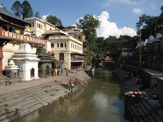 Bagmati-Fluss in Pashupatinath