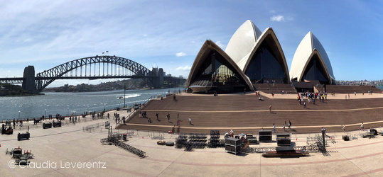 Sydney - Opera House und Harbour-Bridge