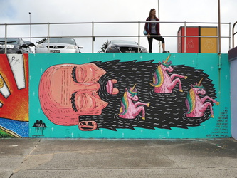 Bondi Beach - Beards are truly magical