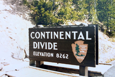 Yellowstone NP - Continental Divide