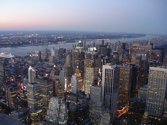 Empire State Building - Ausblick